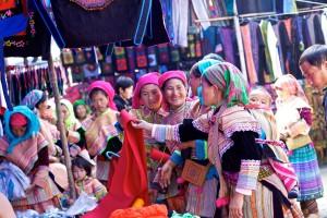 Voyage Vietnam, marche bac ha