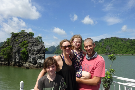 voyage famille halong