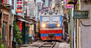train de rue hanoi